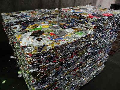 Reciclagem de alumínio de Minato