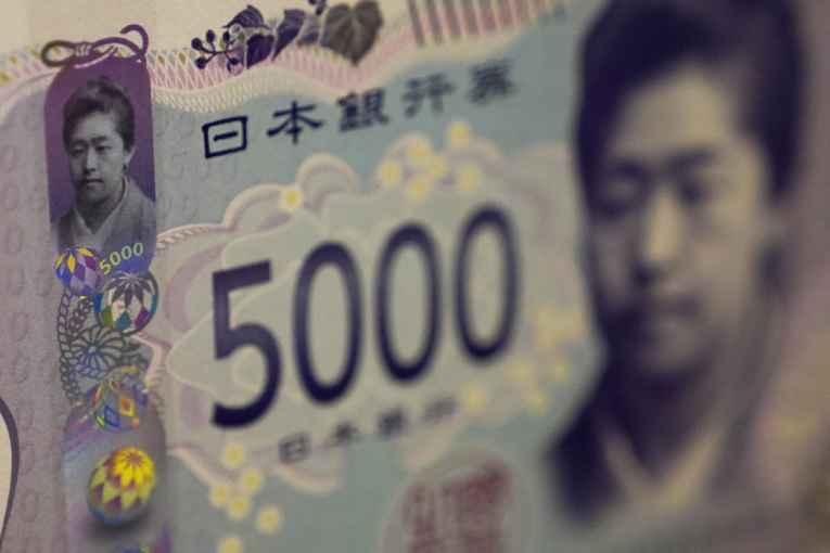 novo dinheiro Japão 2024