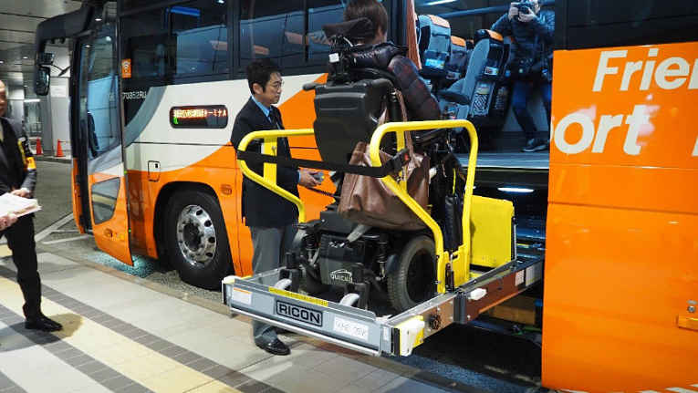 ônibus com elevador