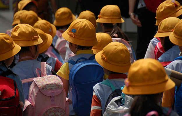 Crianças em idade pré escolar