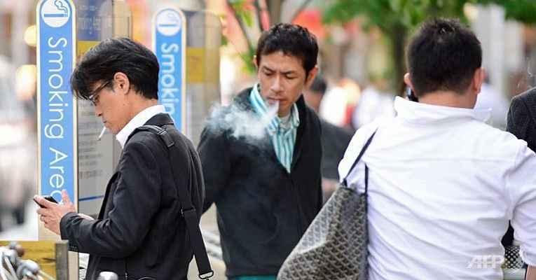 Fumante no Japão