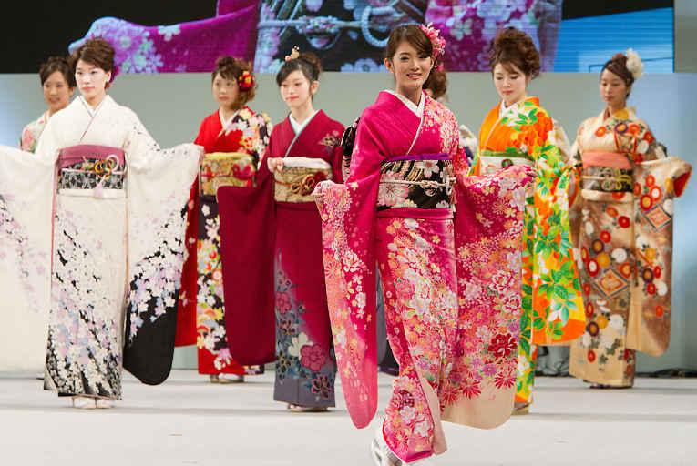 Trajes de kimono