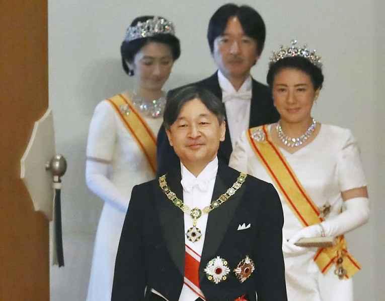 Imperador Naruhito, Imperatriz Masako, Princesa Kiko e Príncipe Akishino
