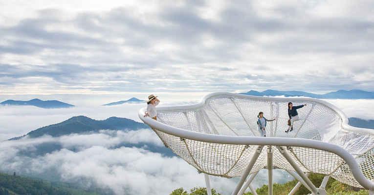 Vista do terraco Hoshino Resorts