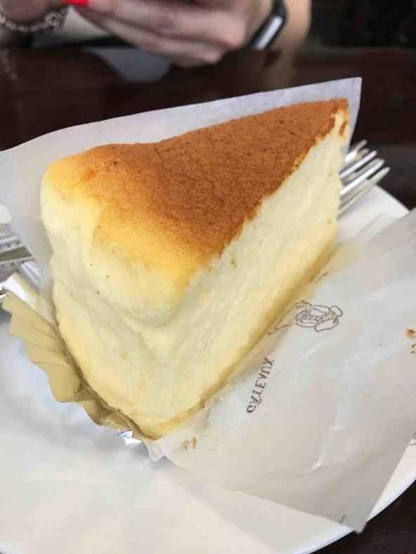Pedaço de cheesecake da Shoritae's