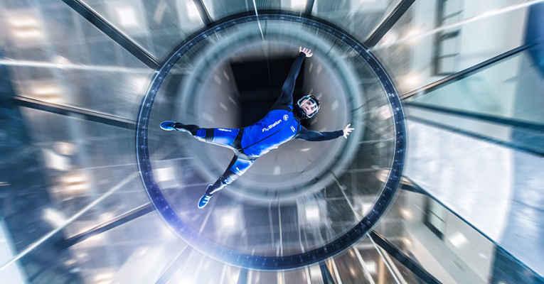 Skydiving no Flystation