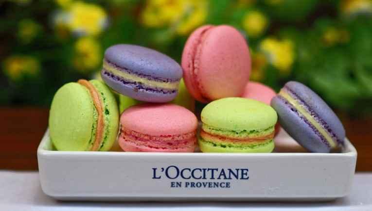 Macarons Loccitane