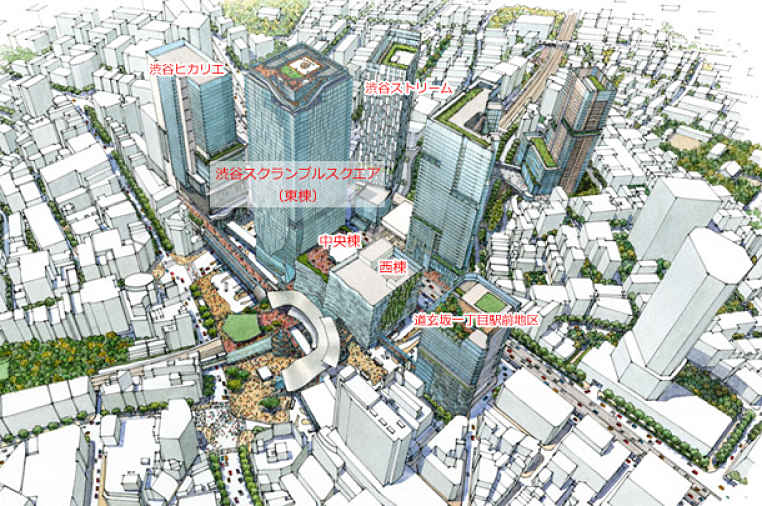 Revitalização de Shibuya