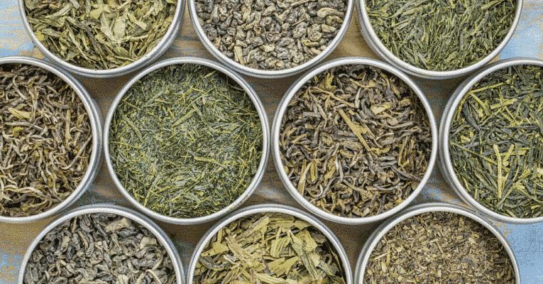 Tipos de chá verde