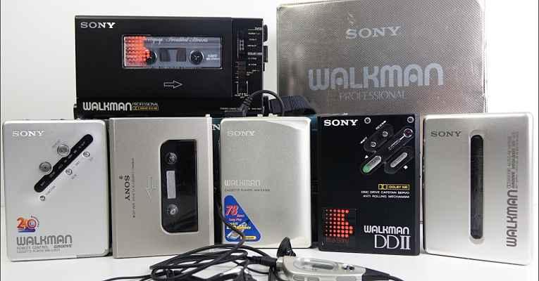 Aparelhos Walkman