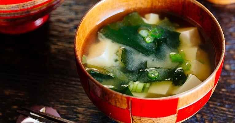 Receita de sopa de missoshiru