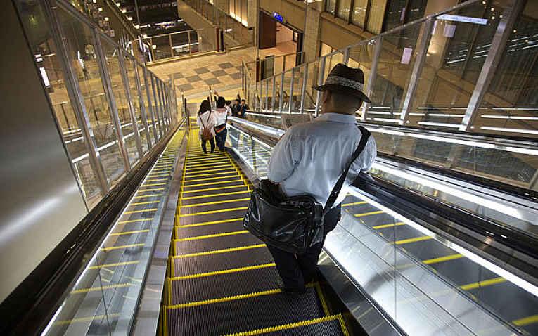 Escada rolante Osaka