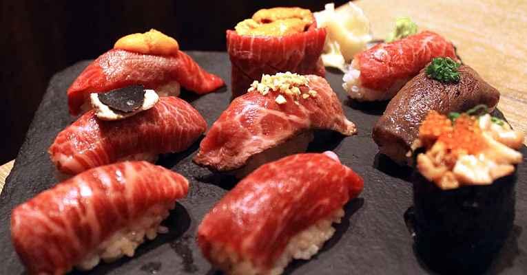 Niku sushi