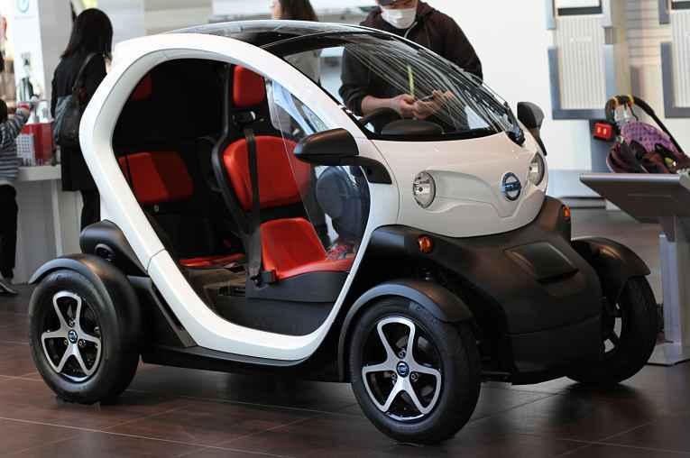 Carro elétrico para idosos