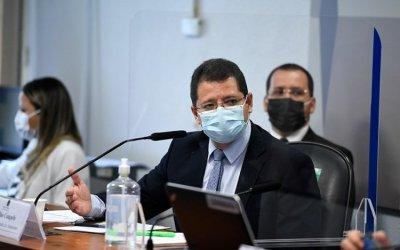 Na CPI da Covid-19, Campêlo contradiz Pazuello sobre crise de oxigênio no Amazonas