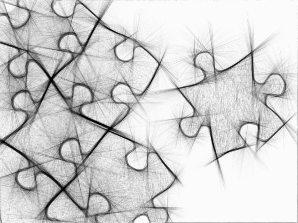 przyjaciele  puzzle