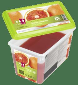 Mrazené pyré červený pomaranč Cap Fruit