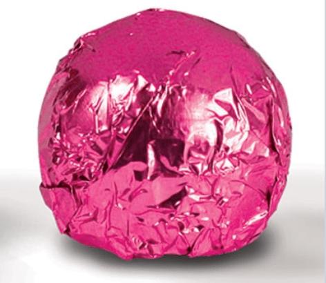 Fólia na truffle tmavo ružová