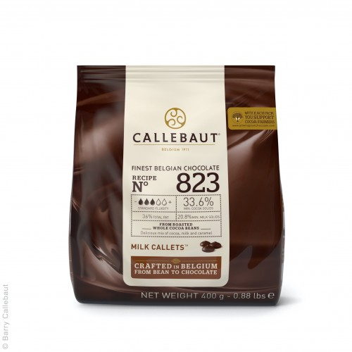 Mliečna čokoláda 33% Callebaut 400g