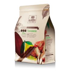 Tanzánia 75% horká čokoláda Cacao Barry 1kg