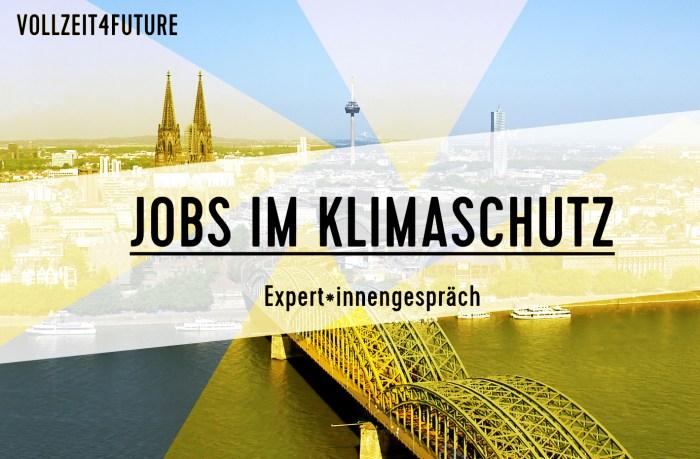 Jobs im Klimaschutz - Expertinnengespräch