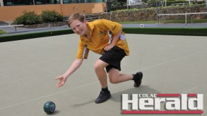 Beeac's Grant McLaren, 13, has earned selection in Victoria's under-18 lawn bowls team.