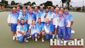 Colac lawn bowlers upstaged minor premier Apollo Bay to notch up their third straight Division One premiership.
