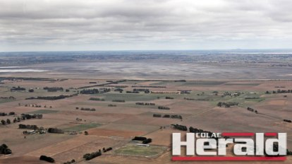 Dry weather has left the Colac district and its lakes parched, sparking a call for government drought assistance.