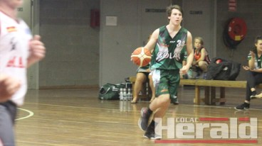 Colac basketballer Denver Murnane was among three teenage first-year Kookas who had breakout games over the weekend.