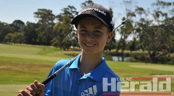 Colac golf prodigy claims regional tournament