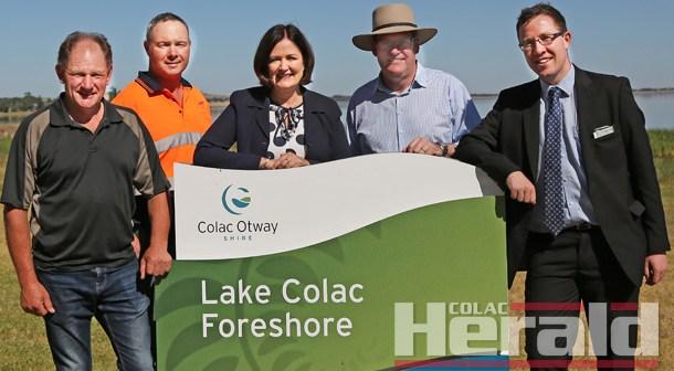 Cash for lake shore upgrades