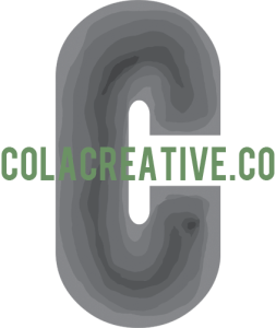 cola creative logo graphic design photography and video company in olympia wa