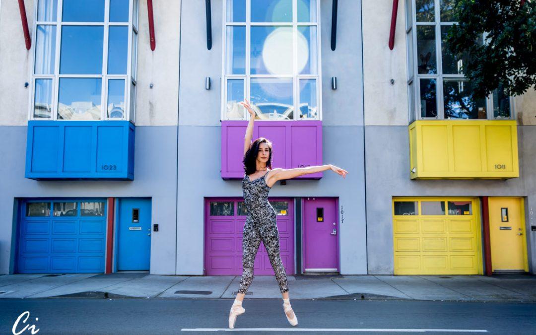 urban ballerina fashion photos