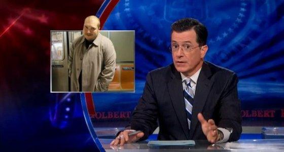 Stephen Colbert on TSA pat downs