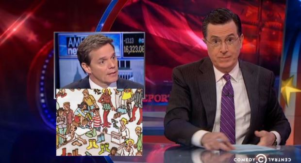 Stephen Colbert on Malaysian Airlines