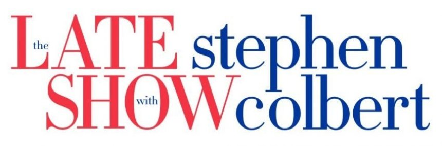 The Late Show with Stephen Colbert Banner Logo