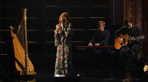 Florence and the Machine on The Late Show with Stephen Colbert