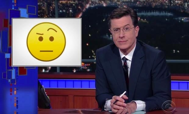 The Colbert Emoji to be Released with Unicode 10.0