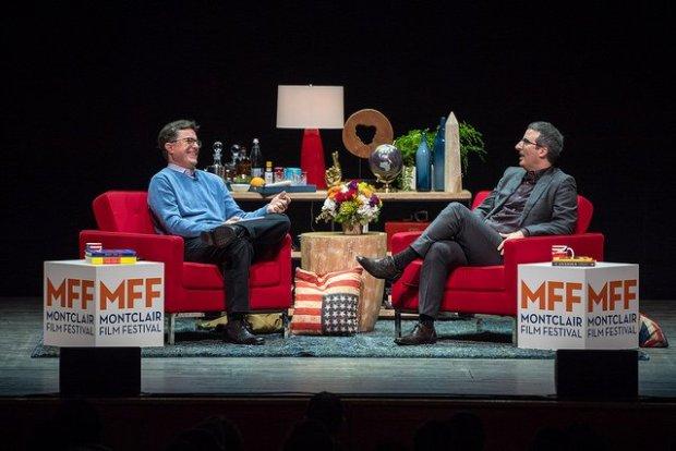 Stephen Colbert and John Oliver Benefit the Montclair Film Festival