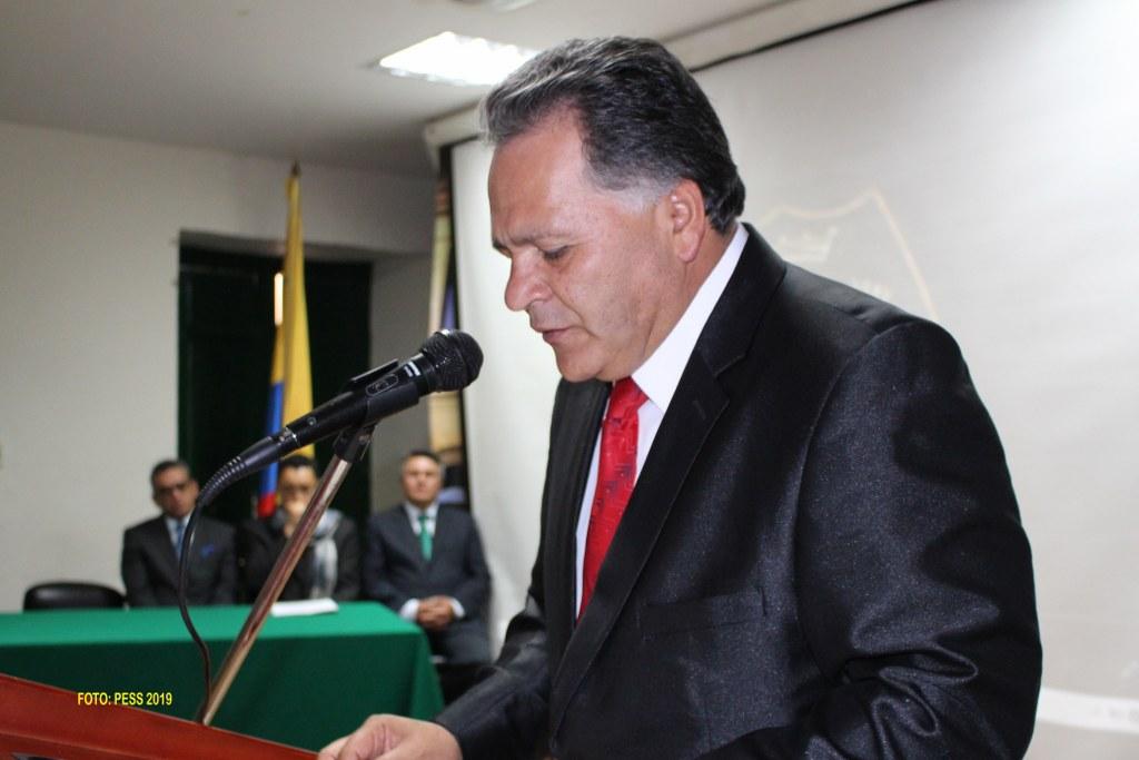 Dr. José Miguel Garay. Director General del Colegio de Boyacá