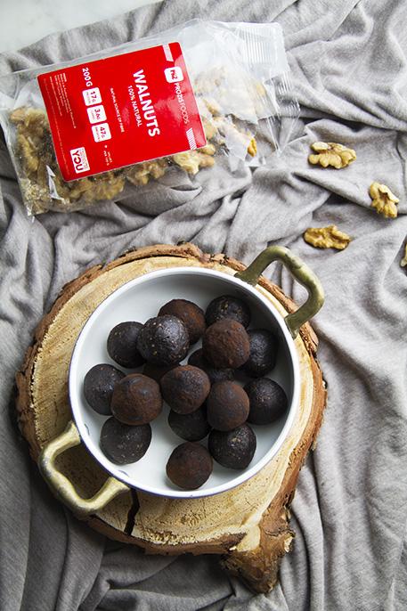 palline energetiche brownies