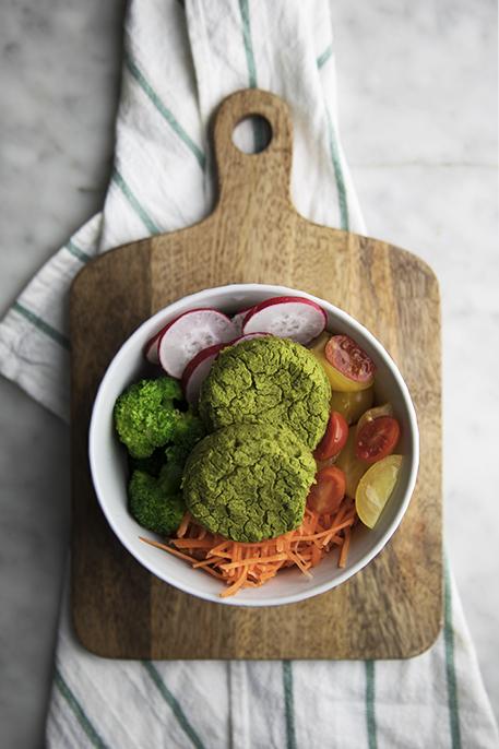 Falafel agli spinaci