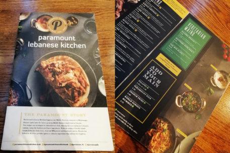 Dove mangiare a Londra - Paramount lebanese kitchen