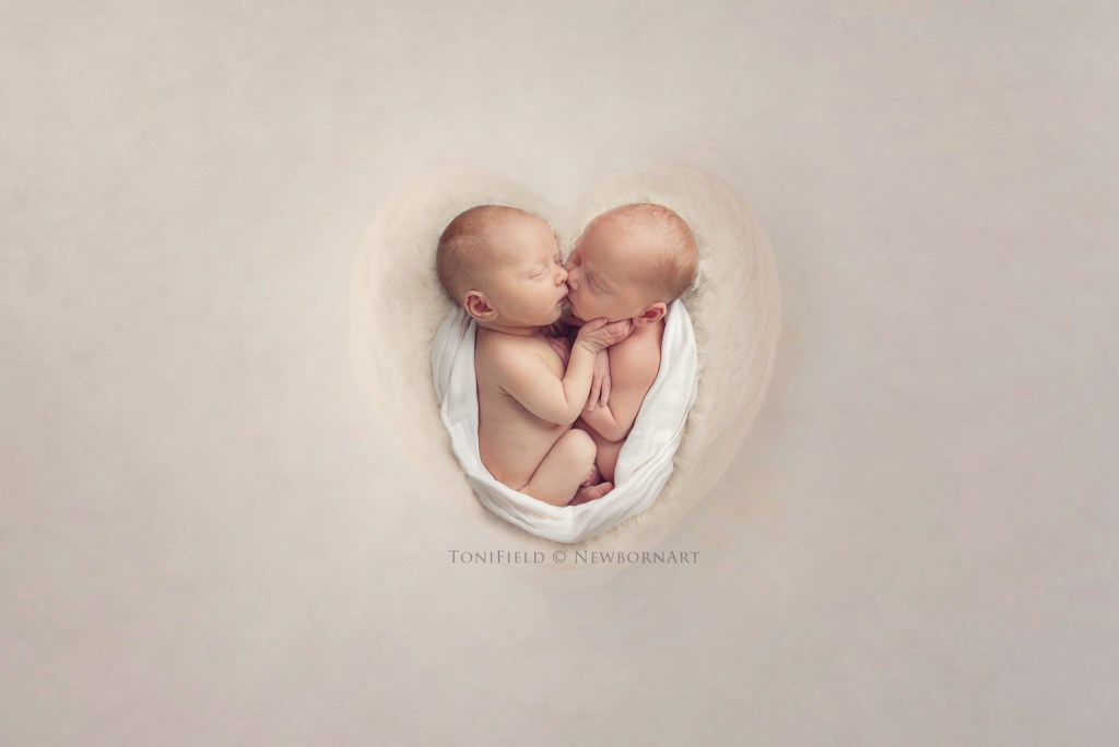 twin baby photo session