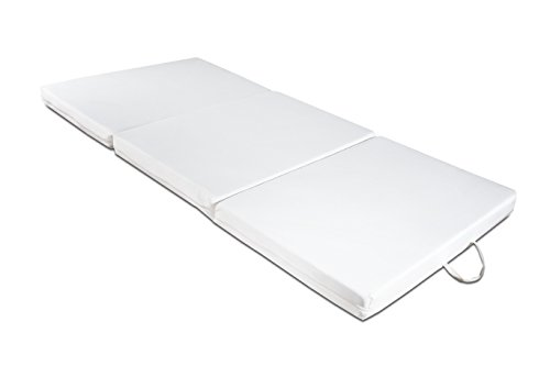 Futon colchón, plegable, ahorro de espacio, plaza individual 97×200 cm
