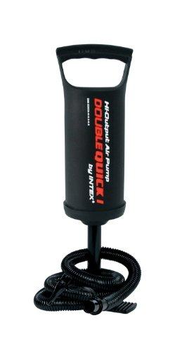 Intex – Hinchador de mano/pie Intex doble velocidad – 29 cm – 68612