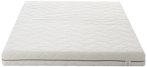 AmazonBasics – Colchón de espuma de 7 zonas extraconfortable 135 x 190 cm