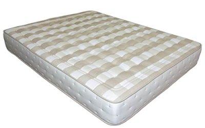 SUENOSZZZ-Colchón de muelles ensacados + Viscolastica. *CONTINENTAL* – (Camas 105 cms) Medida 105 x 180. Color Blanco/Beige Tostado