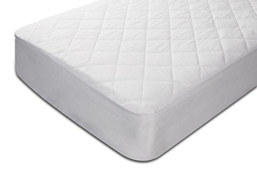 Pikolin Home Protector de colchón acolchado cubre colchón de fibra, impermeable, antiácaros, 150 x 190/200 cm, cama 150