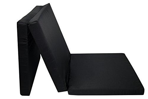 Zollner Colch/ón plegable para cuna de viaje 60x120x6 cm gris antracita